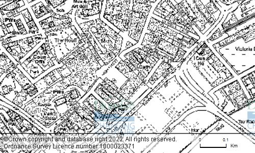 Map showing location of 17 City Square, Dundee, DD1 3BA