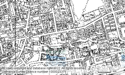 Map showing location of GLEBELANDS PRIMARY SCHOOL, BAFFIN STREET, DUNDEE, DD4 6EZ
