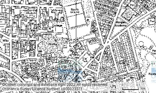 Map showing location of CLEPINGTON PRIMARY SCHOOL, ELIZA STREET, DUNDEE, DD4 6TQ