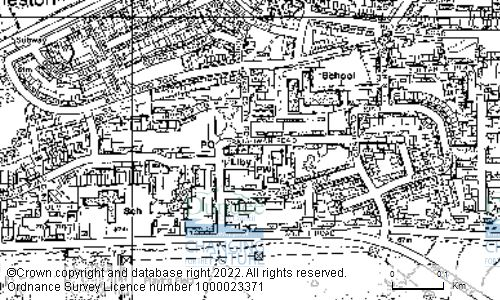Map showing location of CHARLESTON COMMUNITY CENTRE AND LIBRARY, CRAIGOWAN ROAD, DUNDEE, DD2 4NL