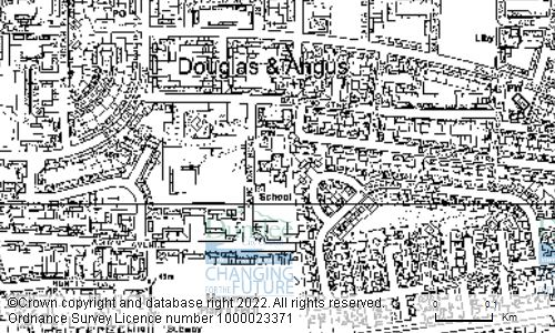 Map showing location of ST PIUS RC PRIMARY SCHOOL, BANCHORY ROAD, DUNDEE, DD4 7TQ