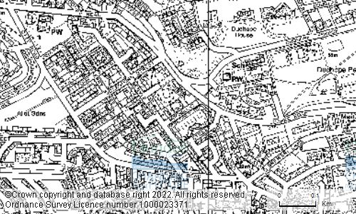 Map showing location of Mitchell Street Community Centre, 5 Mitchell Street, DUNDEE, DD2 2LJ