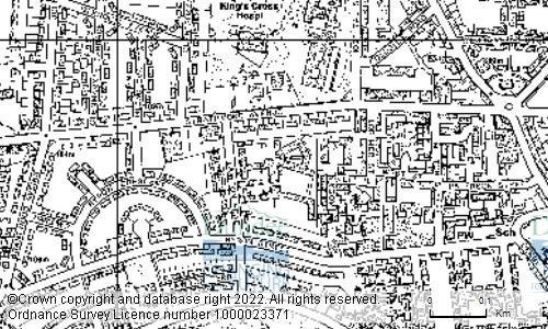 Map showing location of HARRIS ACADEMY, LAWTON ROAD, DUNDEE, DD3 6SY
