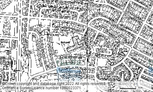 Map showing location of FINTRY PRIMARY SCHOOL, 10 FINDCASTLE TERRACE, DUNDEE, DD4 9EL
