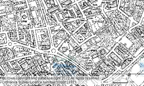 Map showing location of Dundee City Council, Dundee City Council, Housing Department, Dundee House, 50 North Lindsay Street, DUNDEE, DD1 1NB