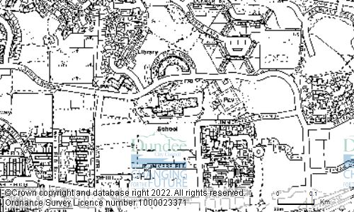 Map showing location of BALLUMBIE PRIMARY SCHOOL, 70 LOTHIAN CRESCENT, DUNDEE, DD4 0HU