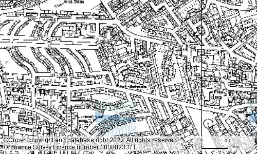 Map showing location of St Josephs Primary School, 1 Glenagnes Road, DUNDEE, DD2 2AB
